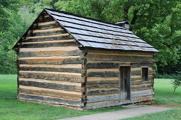 Lincoln Log Cabin ~ Visit the boyhood home of abraham lincoln gatethe gate