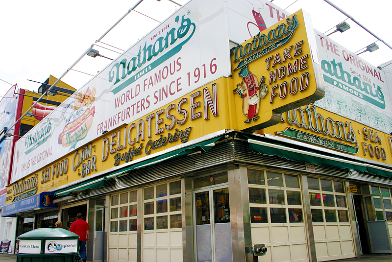 Nathan's Famous Coney Island Frankfurters