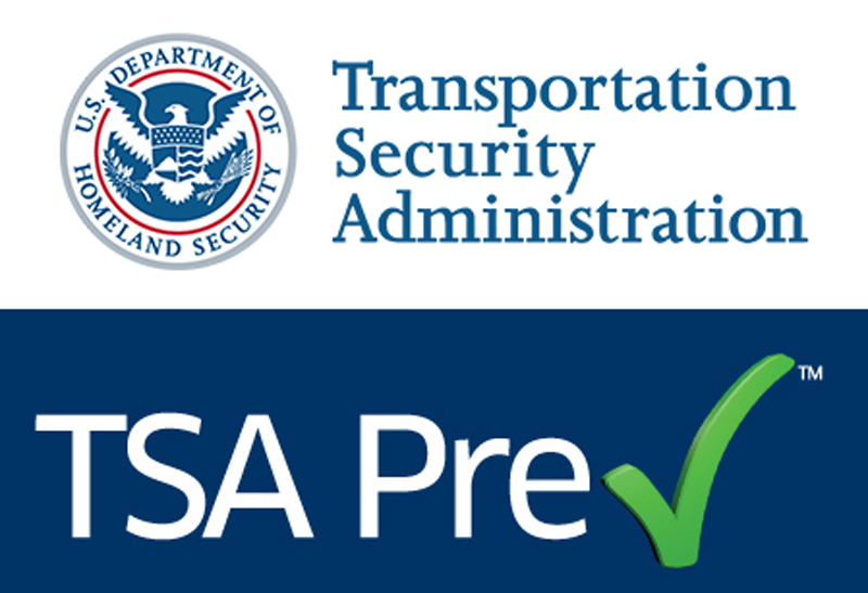 Transportation Security Administration TSA Pre✓ logo