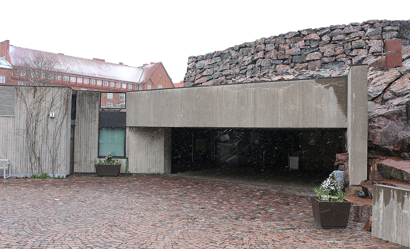 Temppeliaukio Church or Church of the Rock Helsinki