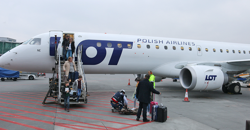 LOT Polish Airways From Minsk to Warsaw