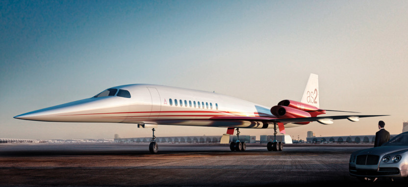 Aerion AS2 airplane