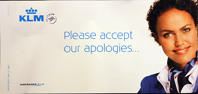 I accept your apologies! Photograph ©2015 by Brian Cohen.