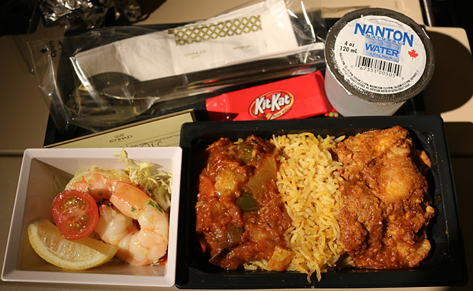 economy class meal Etihad Airways