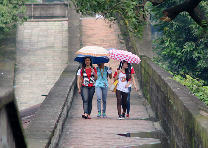 Fortress Walls of Intramuros in Manila