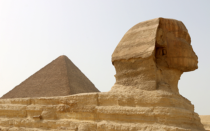 Sphinx Egypt pyramid