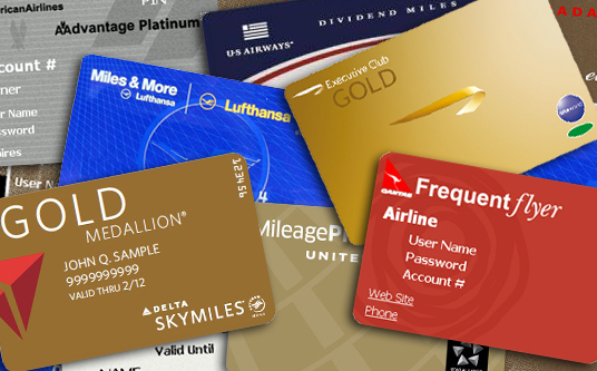 Frequent Flier Cards