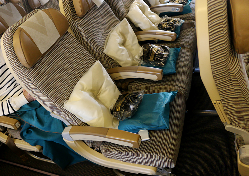 Etihad Airways seats