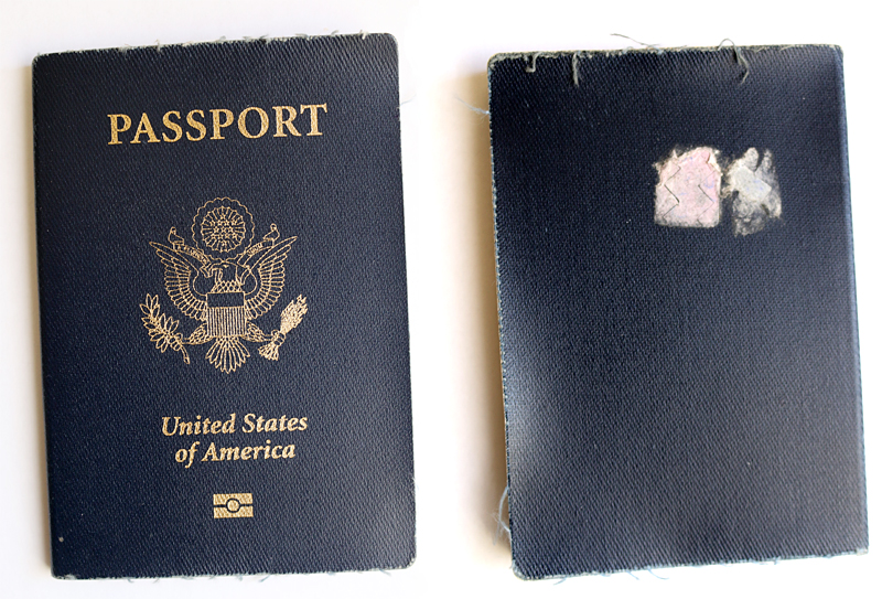 Worn Passport