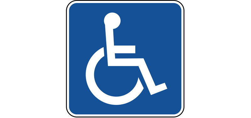 International Symbol for Disability handicapped