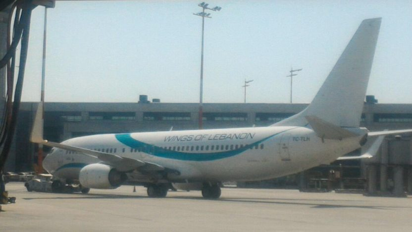 Boeing 737-800 Wings of Lebanon