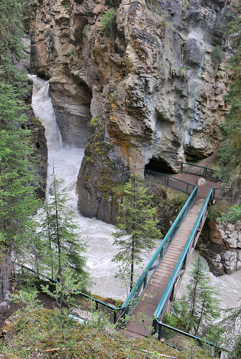 Johnston Canyon Lower Falls Banff Canada