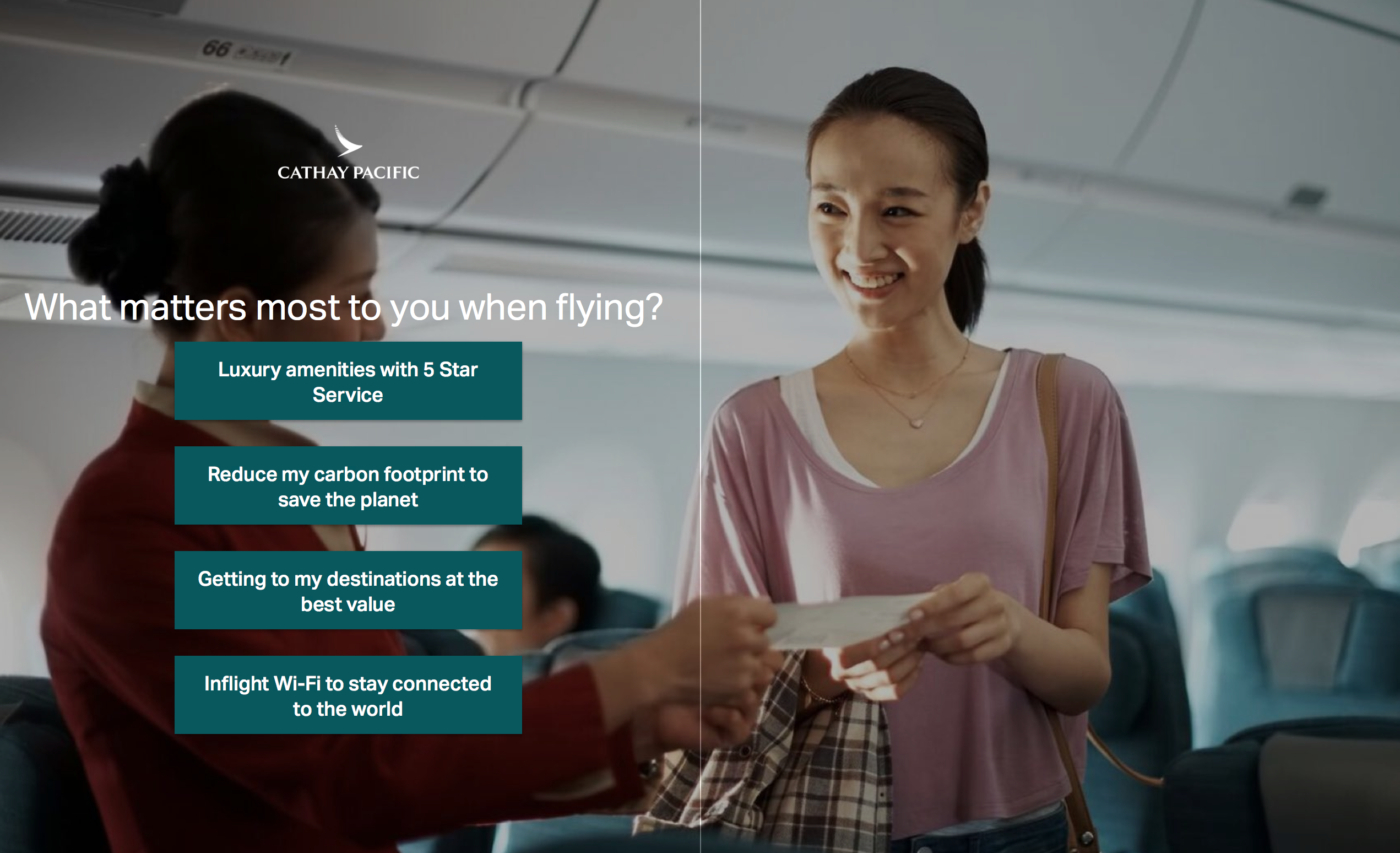 Cathay Pacific Discover A350 Sweepstakes