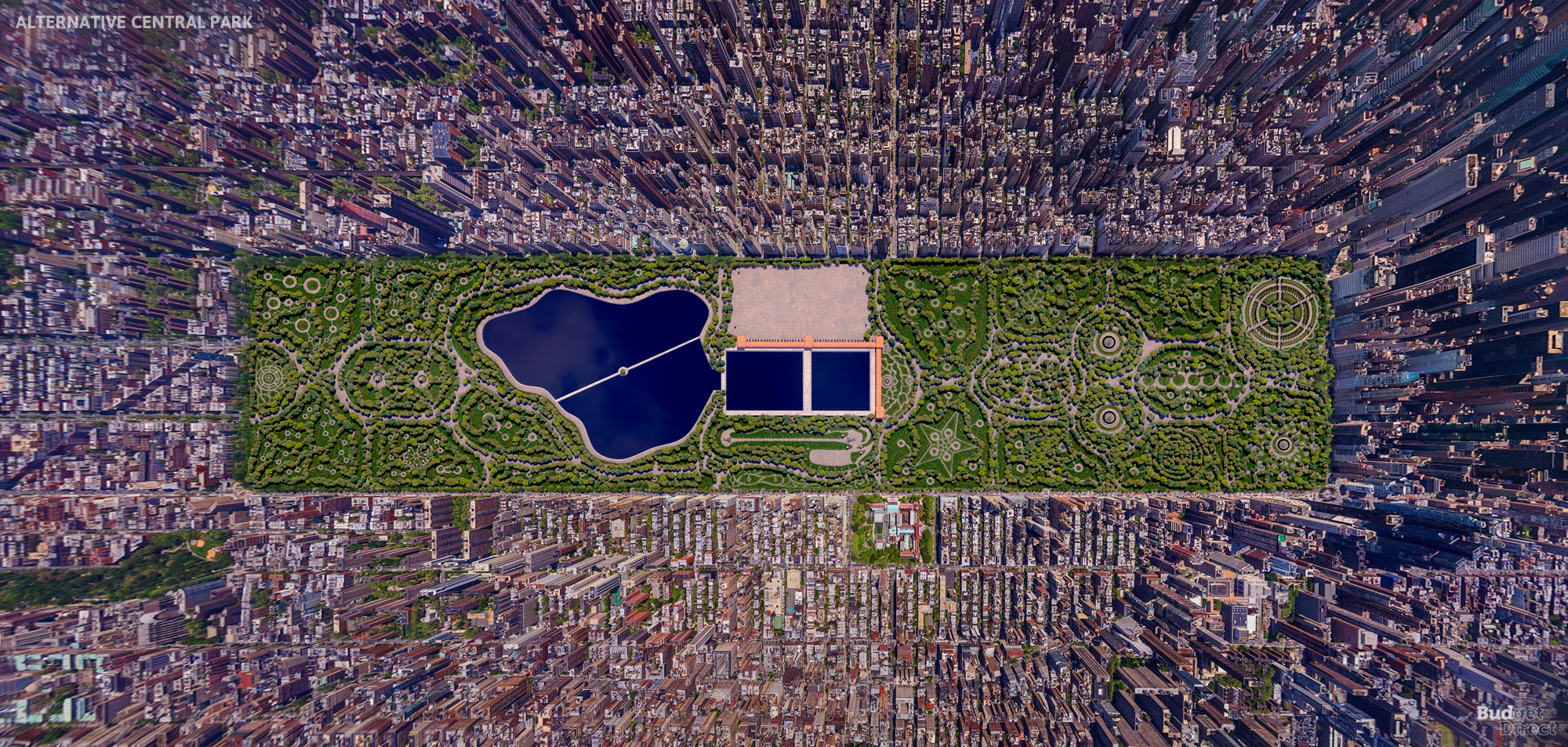 Central Park alternative design