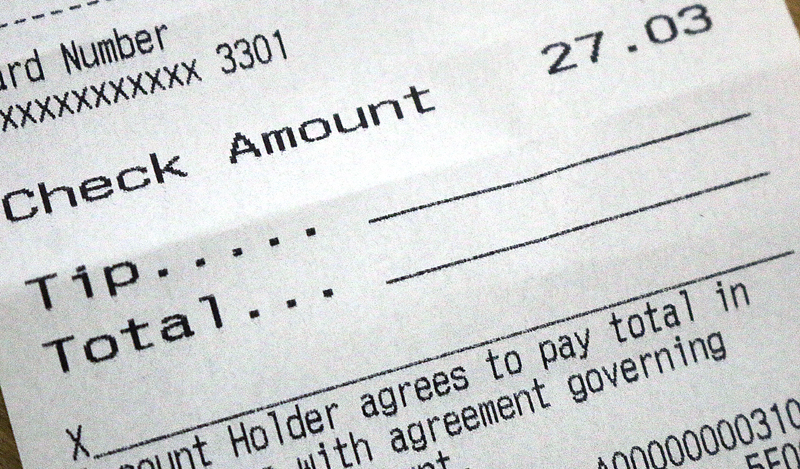 25 Percent Gratuity: The New Default Tip at Restaurants?