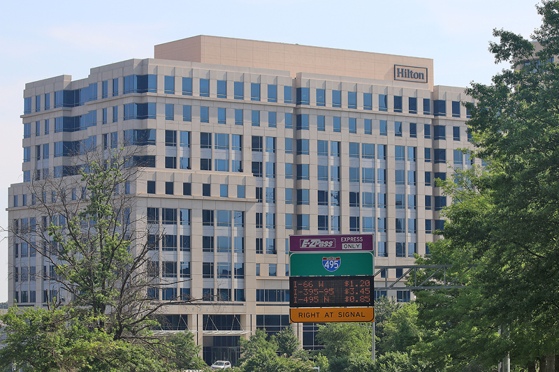 Hilton corporate headquarters