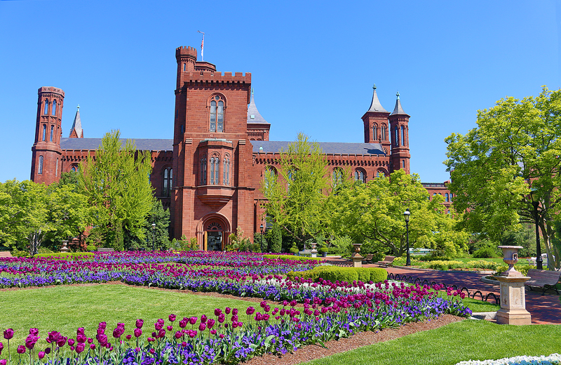 Smithsonian Castle District of Columbia